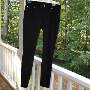 7 For All Mankind Black Stretchy Jeans